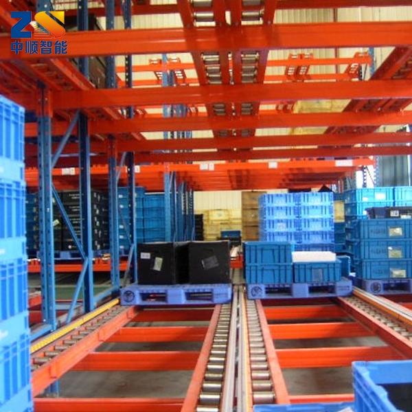 重力自滑式货架供应