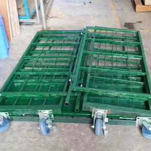 钢材折叠仓储笼